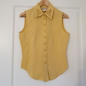 Mondi Yellow Gold Vest